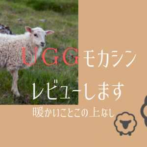 【UGGモカシン】UGGはやっぱり最高の履き心地 この秋もやっぱりモカシンで過ごしたい