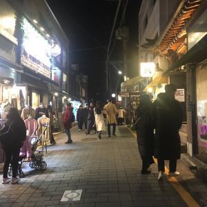 ソウルの夜なう〜♪