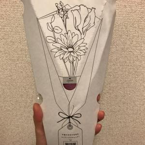ポストにお花が届きました♡