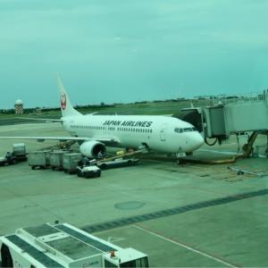 【搭乗記】日本航空804便 台北/桃園→東京/成田 JL804