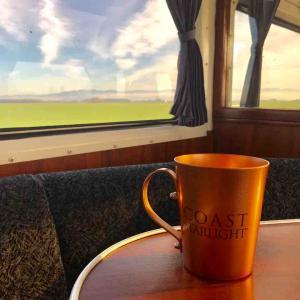 【搭乗記?】Amtrak Coast Starlight LAX→PDX搭乗記(4)2日目。食堂車復活!+MAD Libsと車内探検再び編