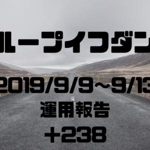 2019年9月9日週のループイフダン 運用報告(自動売買)