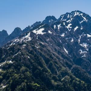 中山(富山県):剱岳の眺望を手軽に楽しみたいならココ!+ちょこっと地質 May 30, 2019