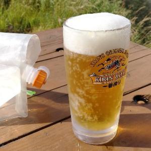 【今日の一枚】冷池で、冷たい生ビール!