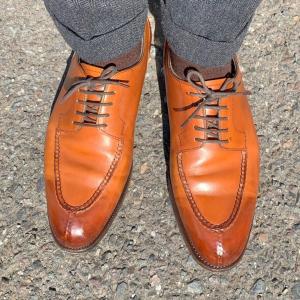 くま散歩〜休日も革靴を履いて歩きたい