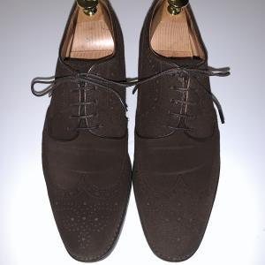 クールビズにスエード靴なんていかがでしょう