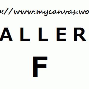 『my gallery』of the Week
