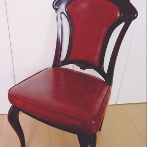 最近買ったアンティーク家具 ~チェアー篇~