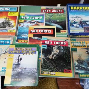 マイブーム『Harpoon (1st & 3rd edition) (GDW : 1981)』