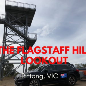 The Flagstaff Hill Lookout 展望台