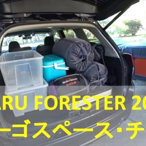 Subaru Forester 2019 Cargo space