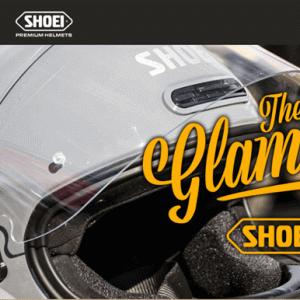 SHOEI The Glamsterの情報を入手。特徴の解説とラインナップ情報。