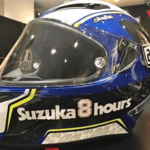 ヘルメット内部の快適性抜群のハイグレーヘルメットAGV Corsa Rレビュー!