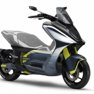 ヤマハから125ccクラスの電動スクーターE01が登場する可能性