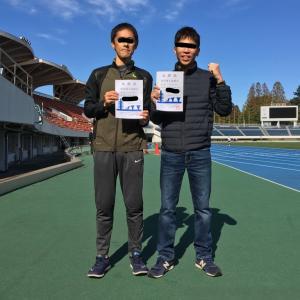疲労抜きジョグ 【レポ】駒沢陸上記録会10000m