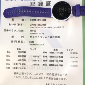 【速報】勝田マラソン