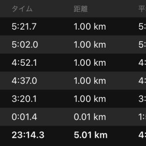 刺激走1km