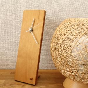 フローリングの端材を利用したアトリエ橙のオリジナル時計