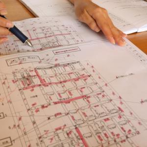 「関町の家」プレカット図のチェック