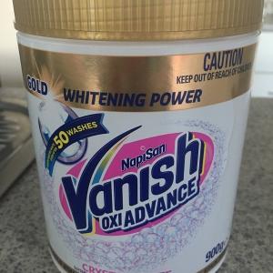 【漂白】まさかのVanishで汚れ落し!【オーストラリアでキッチン用ハイター】