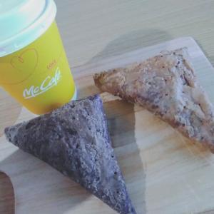 三角チョコパイ クッキー&クリーム 黒 食べ比べ