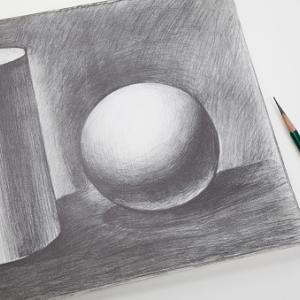 鉛筆画:真希波・マリ・イラストリアス