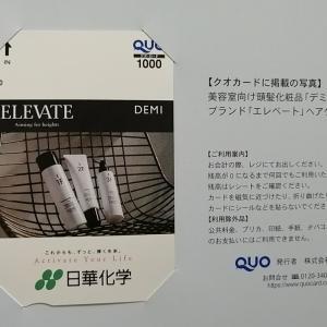 株主優待クオカード到着☆ファミチキが100円で購入できます!