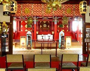 大きな鬼面のご朱印がインパクト大です大阪の片埜神社行ってきました