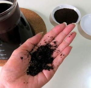 コーヒーの出がらしで簡単手作りスクラブボディケアに エコ作戦