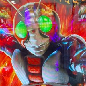 【仮面ライダー轟音】甘デジの新台が出る前にミドルを打ってみたら速攻で確変に突入した