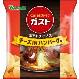 ガスト チーズインハンバーグ味チップス