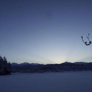 今年初めての厳冬【立山連峰のご来迎】