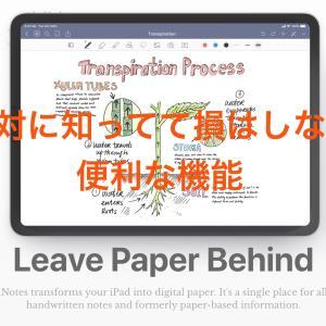 【iPadの有効活用】Goodnotes5の応用的な使い方を解説!!~絶対に知ってて損はない便利な機能編~