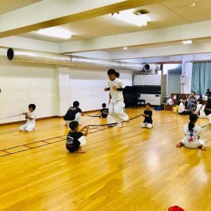 夏の組手強化練習〜1日目〜