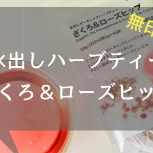 【無印良品】水出しハーブティー「ざくろ&ローズヒップ」レビュー