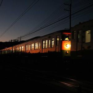 おはようございます☀️カボチャ電車🚃💨