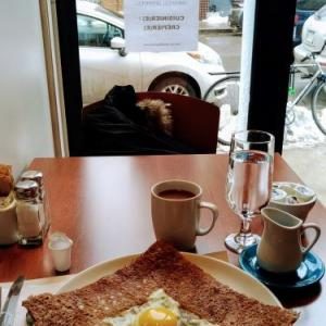 """モントリオール小旅行~そば粉のクレープ""""ガレット""""を初体験@BREIZH CAFÉ"""