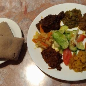 トロントのご飯やさん~ヘルシースパイシーフレンドリーなエチオピアご飯@Hirut