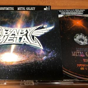 待望のBABY METAL 3rdアルバム「METAL GALAXY」 速攻入手で聴き倒す!