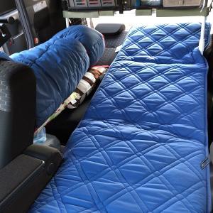 車中泊マットを敷布団に変えてシンプル快適化へ