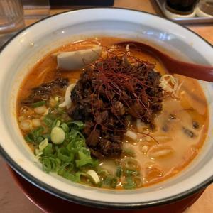 芝麻ラーメン(チーマーラーメン) って美味しいやん 〜 ラーメン徳次郎 〜