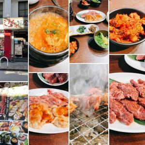 【ハラミ大好き❣️】李朝園 布施店 のスンドゥブ付きボリューム焼肉ランチ
