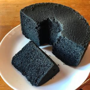 11月のシフォンケーキは『黒ごま+α』