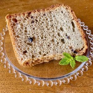 7月のシフォンケーキは『ブルーベリー』