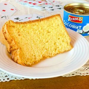 6月のシフォンケーキは『ココナッツ』