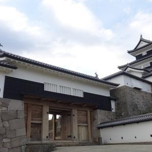 日本100名城No.13白河小峰城の見どころやスタンプや駐車場は?バイクで行く!