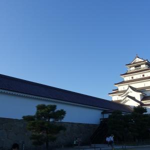 日本100名城No.12会津若松城の見どころやスタンプや駐車場は?バイクで行く!