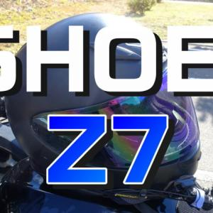 【SHOEI/Z7】一番軽く快適なヘルメットをレビュー!2年間使いました