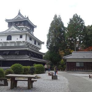 日本100名城No.74岩国城の見どころやスタンプや駐車場は?バイクで行く!