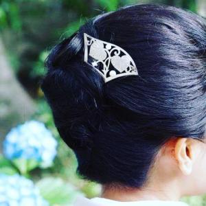 伝統の模様は、実はかわいい?!京都銀製かんざしアーティスト☆HANAE
